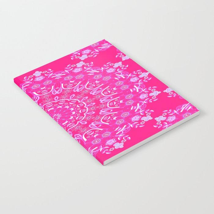 Summer Rain Mandala Notebook