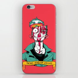 dead and/or dying iPhone Skin