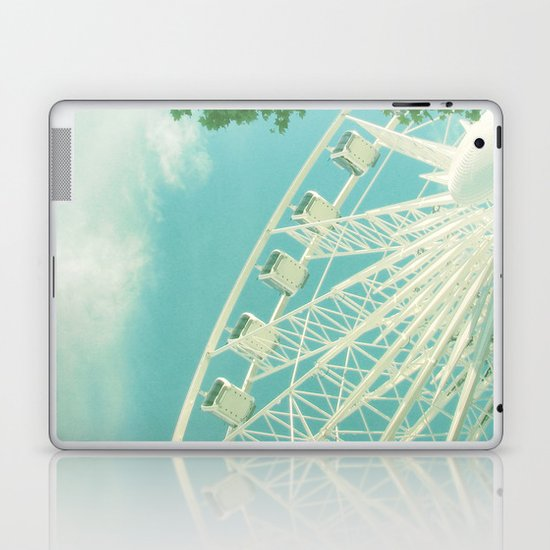 on the ferris wheel Laptop & iPad Skin