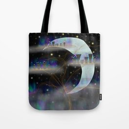 Cities in the Sky Tote Bag