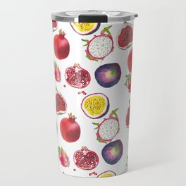 Mixed fruit pattern Travel Mug