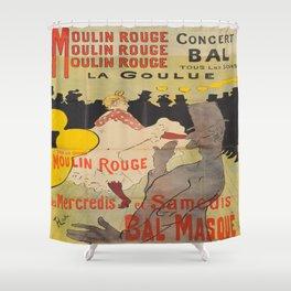 Vintage poster - Toulouse Lautrec Shower Curtain