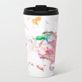 Pink Swirly 1 Travel Mug