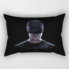 Low Poly Daredevil Rectangular Pillow