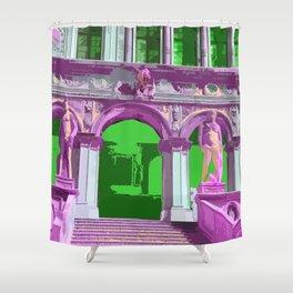 Doge's Palace Venice Steps Shower Curtain