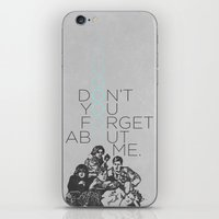 the breakfast club iPhone & iPod Skins featuring BREAKFAST CLUB... by studiomarshallarts