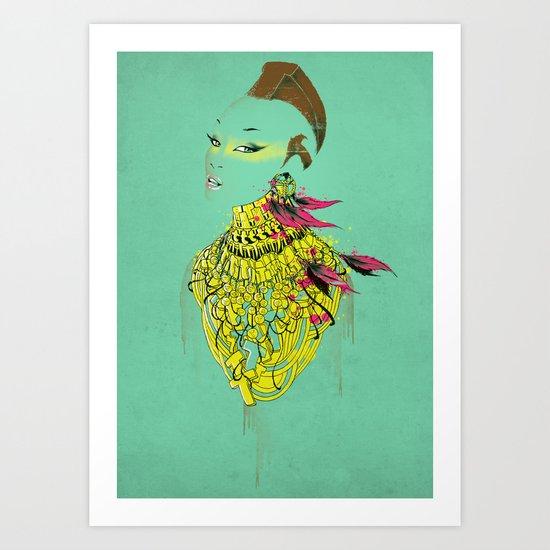 Mrs.T Art Print