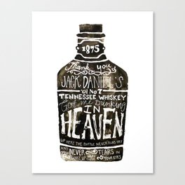 Old Number 7 Canvas Print