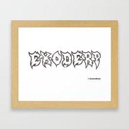 Exoderp Framed Art Print