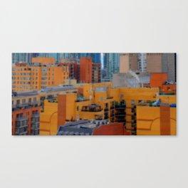 Urbanization No.1 Canvas Print
