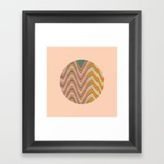 Fade A01 Framed Art Print
