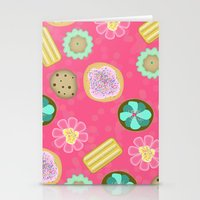 cookies Stationery Cards featuring Cookies by Party Peeps