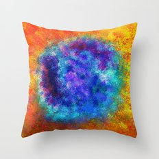 Plasmic Earth Number One Throw Pillow