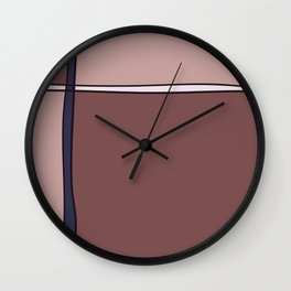 Simple Warmth Wall Clock