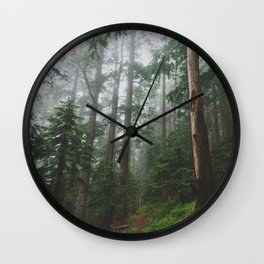 The Gorge - Pacific Crest Trail, Oregon Wall Clock