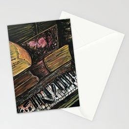 Broken Piano Stationery Cards
