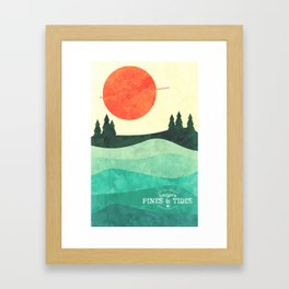 From the Trees to the Sea Framed Art Print