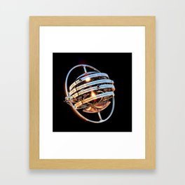 Gyro-buzzard Framed Art Print
