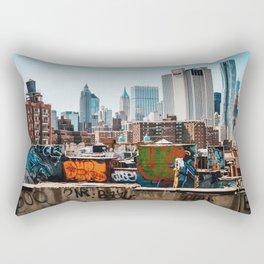 Manhattan, New York Rectangular Pillow