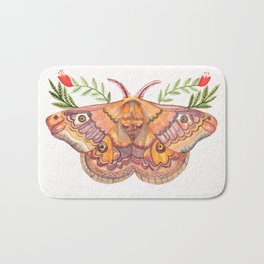 Hawk Moth Bath Mat