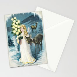 A Merry Christmas Card (1911) from The Miriam and Ira D Wallach Division of Art Prints and Photograp Stationery Cards