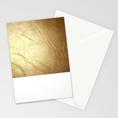 GolD & wHiTe Stationery Cards