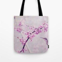Pink Dreams    (Hummingbird) Tote Bag
