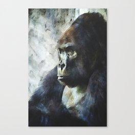 Thinking of Bananas Canvas Print