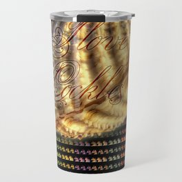 Cockles, Jensen  Ackles Travel Mug