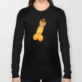Emoji Dick Cowboy Long Sleeve T-shirt