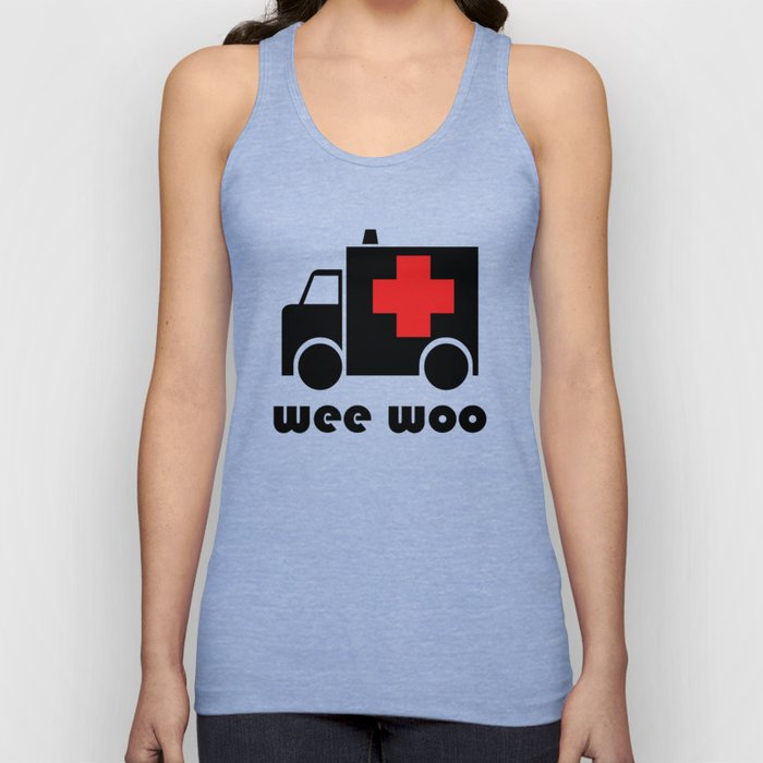 Wee Woo Ambulance Unisex Tank Top