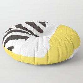 Zebra Abstract Floor Pillow