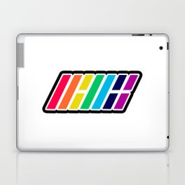 iKON Rainbow (LOGO) Laptop & iPad Skin