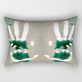 Grasps Rectangular Pillow