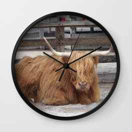 My Name is Shaggy. Is Anyone There? Wall Clock