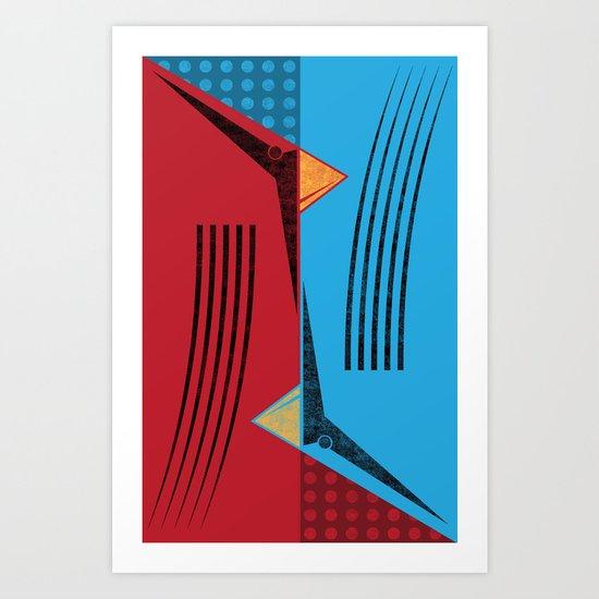 flip flop Art Print