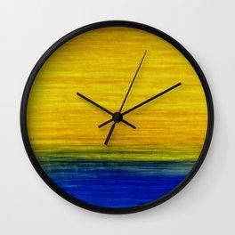 on the horizon Wall Clock