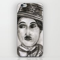 charlie iPhone & iPod Skins featuring Charlie by sladja