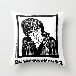 Ray Manzarik  Throw Pillow