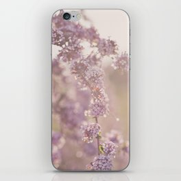 delicate pink iPhone Skin