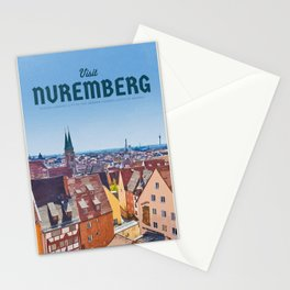 Visit Nuremberg Stationery Cards