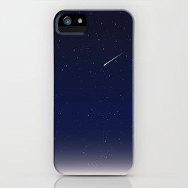 Night Sky Shooting Stars Beautiful iPhone Case