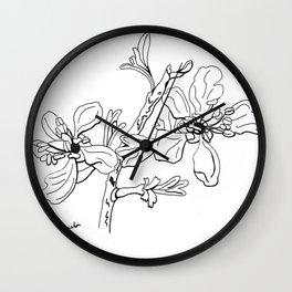 Antelope Bitterbrush Wall Clock
