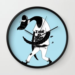 I ain't no golden goose Wall Clock