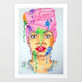Colors Spots Art Print