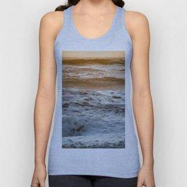 Coral Ocean Sunset Unisex Tank Top