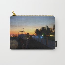 Night falls at Lakes Entrance Carry-All Pouch