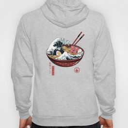 Great Ramen Wave White Hoody