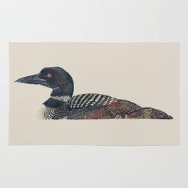 Common Loon Rug