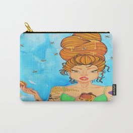 Bittersweet, Hair Series Carry-All Pouch
